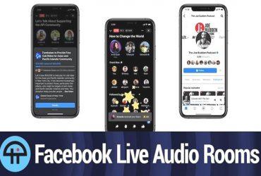 Facebook Live Audio Rooms si diffonde negli Stati Uniti 7zWvkGR4y 1 3