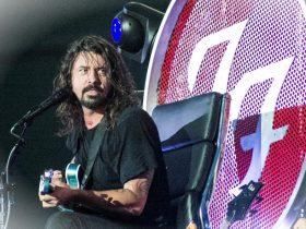 Kurt Cobain sta ridendo di te Dave Concerto dei Foo FighterszOstPrc 20