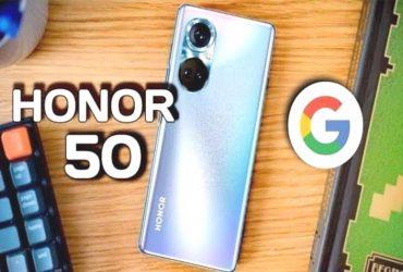 La serie Honor 50 potra essere spedita con le app e i servizi di peWanKh 1 6