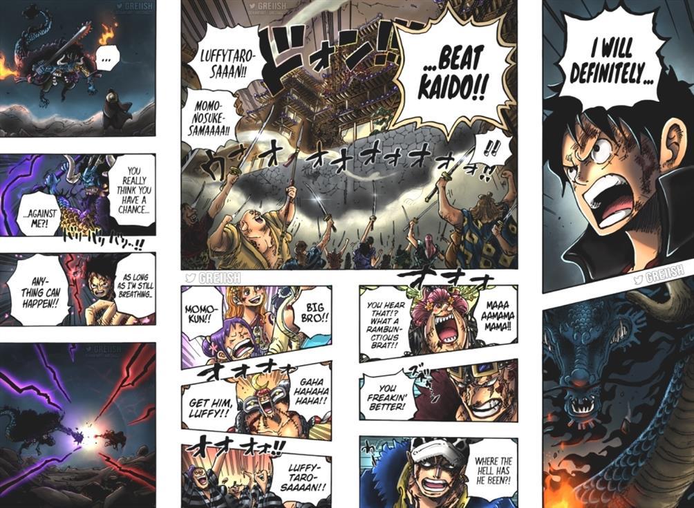 One Piece Capitolo 1028 Spoiler Reddit Recap Data di uscita e tempo TW8tY 3 5